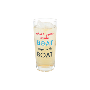 Happens on the Boat by We People - 11 oz Tritan Highball Glass