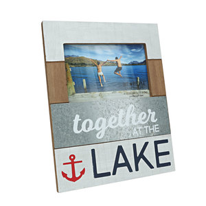 "Lake by We People - 7.75"" x 10"" Frame (Holds 4"" x 6"" Photo)"