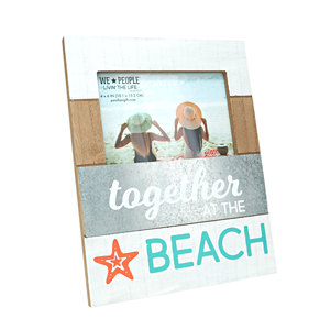 "Beach by We People - 7.75"" x 10"" Frame (Holds 4"" x 6"" Photo)"