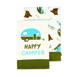 "Camp by We People - Tea Towel Gift Set (2 - 19.75"" x 27.5"")"