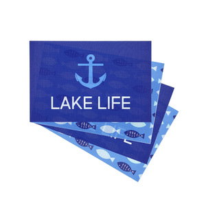 "Lake by We People - Placemat Gift Set (4 - 17.75"" x 11.75"")"