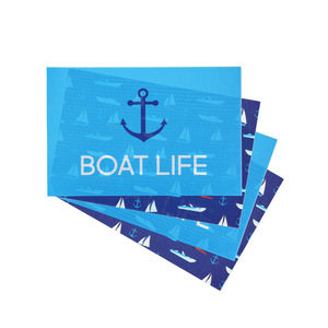 "Boat by We People - Placemat Gift Set (4 - 17.75"" x 11.75"")"