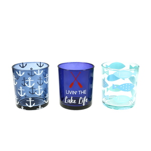 Lake by We People -  3 Assorted Votive Holders