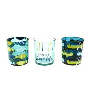 River by We People -  3 Assorted Votive Holders