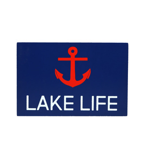 "Lake Life by We People - 6"" x 4"" MDF Plaque"