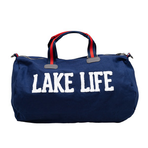 "Lake Life by We People - 21.5"" x 13"" Canvas Duffle Bag"