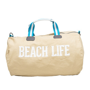 "Beach Life by We People - 21.5"" x 13"" Canvas Duffle Bag"