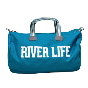 "River Life by We People - 21.5"" x 13"" Canvas Duffle Bag"
