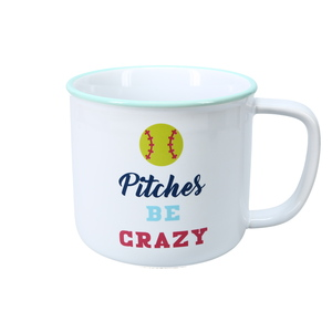 Pitches Be Crazy by We People - 17 oz Mug