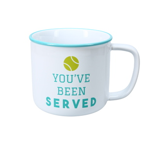 You've Been Served by We People - 17 oz Mug