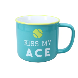 Kiss My Ace by We People - 17 oz Mug