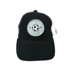 Soccer Life by We People - Black Adjustable Mesh Hat