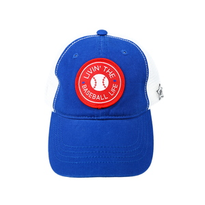 Baseball Life by We People - Blue Adjustable Mesh Hat