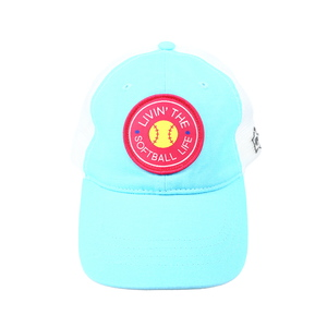 Softball Life by We People - Light Blue Adjustable Mesh Hat