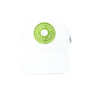 Golf Life by We People - White Adjustable Mesh Hat