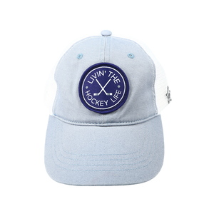Hockey Life by We People - Slate Gray Adjustable Mesh Hat