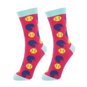 Softball Life by We People - S/M Unisex Socks