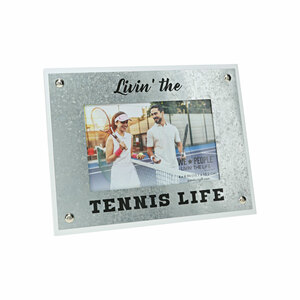 "Tennis Life by We People - 8.5"" x 6.5"" Frame (Holds 4"" x 6"" Photo)"
