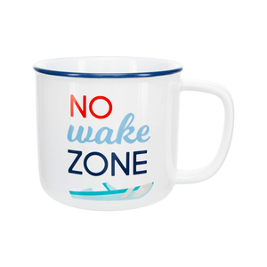 No Wake by We People - 17 oz Mug