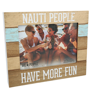 "Nauti People by We People - 9"" x 7.25"" Frame (Holds 5"" x 7"" photo)"
