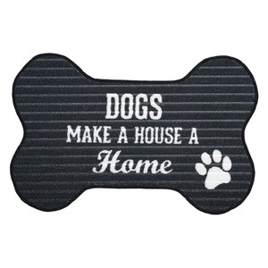 "Dog Home by We Pets - 27.5"" x 17.75"" Floor Mat"