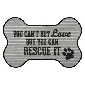 "Rescue by We Pets - 27.5"" x 17.75"" Floor Mat"