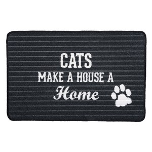 "Cat Home by We Pets - 27.5"" x 17.75"" Floor Mat"