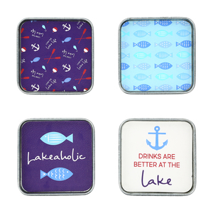 "Lake by We People - 4"" (4 Piece) Coaster Set"