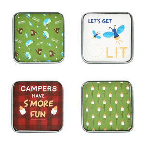 "Camp by We People - 4"" (4 Piece) Coaster Set"