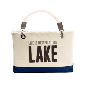 "Lake by We People - 21"" x 12"" Canvas Tote"