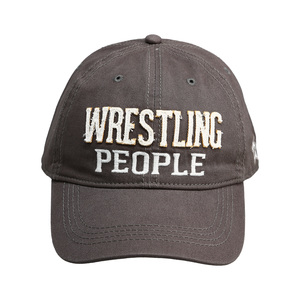 Wrestling by We People - Dark Gray Adjustable Hat