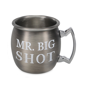 Mr. Big Shot by Man Crafted - 2 oz Stainless Steel Moscow Mule Shot
