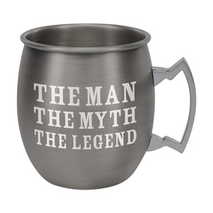 The Legend by Man Crafted - 20 oz Stainless Steel Moscow Mule
