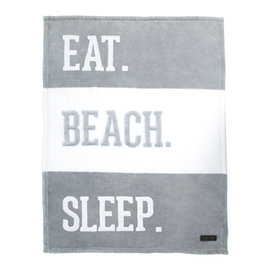 "Beach by We Baby - 30"" x 40"" Royal Plush Blanket"
