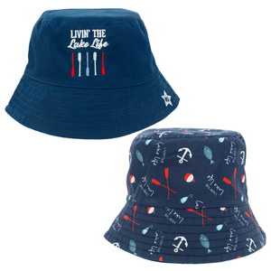 Lake Life by We Baby - Reversible Bucket Hat 6-12 Months