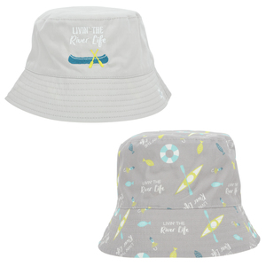 River Life by We Baby - Reversible Bucket Hat 6-12 Months