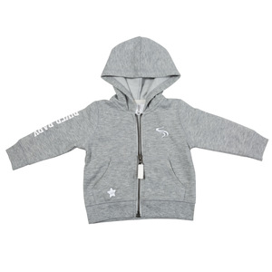 River by We Baby - 6-12 Months Gray Hoodie