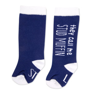 Stud Muffin by Sidewalk Talk - 0-12 Months Baby Knee Highs