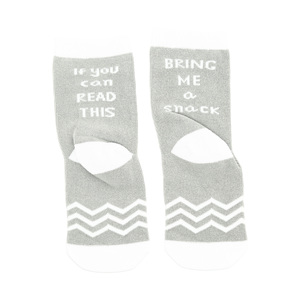 Snack by Sidewalk Talk - 2T-4T Crew Socks