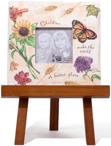 "Children by Fields of Joy - 5.5""x5.5"" Mini Frame w/E"