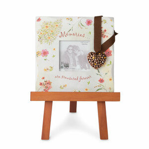 "Memories by Fields of Joy - 5.5""x5.5"" Mini Frame w/H"