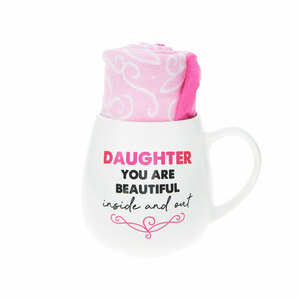 Daughter by Warm & Toe-sty - 15.5 oz Mug and Sock Set
