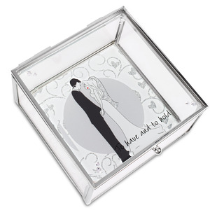 "To Have and to Hold by philoSophies - 4"" Glass Keepsake Box"