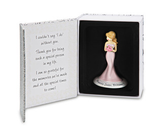 "Junior Bridesmaid by philoSophies - 4.5"" Ornament"