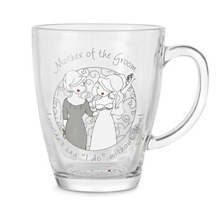 Mother of the Groom by philoSophies - 12.5oz Glass Cup