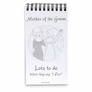 Mother of the Groom by philoSophies - 80 Page Notepad with Easel