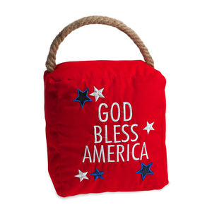 "America by Open Door Decor - 5"" x 6"" Door Stopper"
