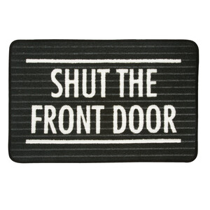 "Front Door by Open Door Decor - 27.5"" x 17.75""   Floor Mat"