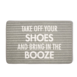 "Bring in the Booze by Open Door Decor - 27.5"" x 17.75"" Floor Mat"