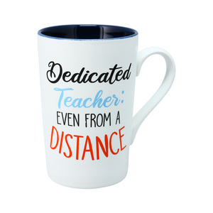 Dedicated Teacher by Essentially Yours - 15 oz. Latte Cup